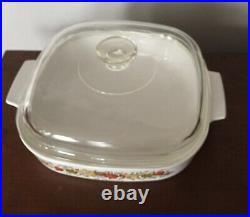Vintage Corning Ware 1960s Spice of Life Pyrex La Romarin Casserole Dish RARE