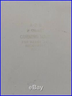 Vintage Corning Ware 2 Quart Casserole La Marjolaine Spice of Life A-2-B