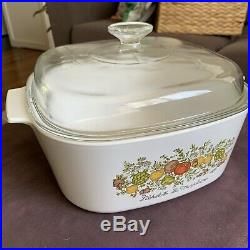 Vintage Corning Ware 5 Liter LEchalote La Marjolaine