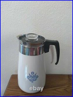 Vintage Corning Ware 6 Cup Perculator