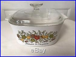 Vintage Corning Ware 8 Pieces, La Marjolaine, LEchalote, Le Persia, LEchalote