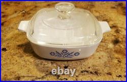Vintage Corning Ware Blue Cornflower 1 Quart Dish