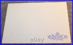 Vintage Corning Ware Blue Cornflower 15 By 11 Cutting Board Counter Saver