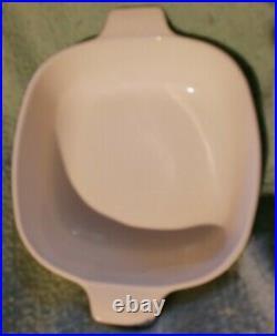 Vintage Corning Ware Blue Cornflower 1Qt Quart Casserole Dish