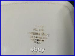 Vintage Corning Ware Blue Cornflower 5 PIECE SET No lids. P41, p43- p4b