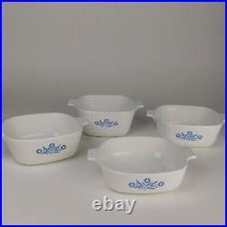 Vintage Corning Ware Blue Cornflower Casserole Dish Set 11 pieces