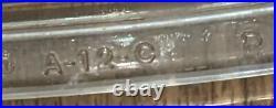 Vintage Corning Ware Blue Cornflower Set of 3 very early markings on handle lug