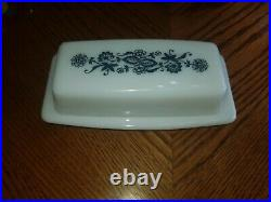 Vintage Corning Ware Butter Dish