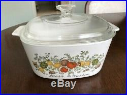 Vintage Corning Ware LEchalote La Marjolaine 3 litre Corningware