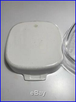 Vintage Corning Ware Le Romarin Casserole Dish Stamped A 10 B Spice Of Life L@@K
