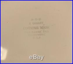 Vintage Corning Ware Pyrex 1960-1970 2 QT. La Marjolaine Spice Of Life Casserole