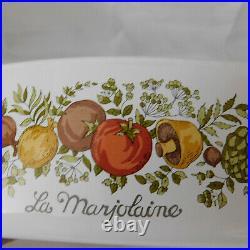 Vintage Corning Ware Pyrex 2 Qt La Marjolaine Casserole Rare Stamp Under Handle