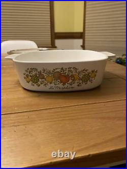 Vintage Corning Ware Spice Of Life La Marjolaine A-2-B 2 Quart Dish SEE STAMPS