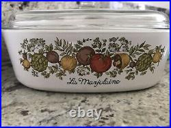 Vintage Corning Ware Spice of Life Casserole, Skillet, Sauce Pan 16 Piece Lot