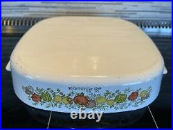 Vintage Corning Ware with Pyrex Lid Spice of Life Le Romarin A-10-B RARE