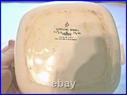 Vintage Corning ware Blue Cornflower 1962-1970 p-1 3/4-B 1960s with LID