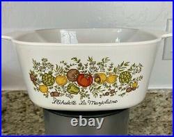 Vintage Corningware L'Echalote La Marjolaine-VERY RARE