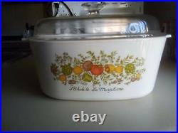 Vintage Corningware Spice of Life 5 Litre Casserole Dish Model A-5-B