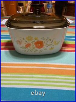 Vintage Corningware Wildflower A-3-B (3-Quart)