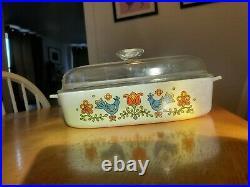 Vintage Corningware in COUNTRY FESTIVAL