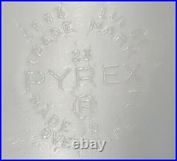 Vintage PYREX 6 piece PINK Refrigerator Set Bowls With Lids Numbers 501 & 503
