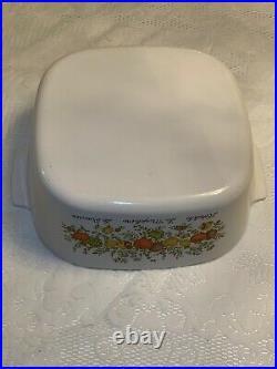 Vintage Pyrex Corning Ware SPICE O' LIFE Large 5 Liter A-5-B Casserole Dish EC