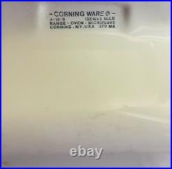 Vintage Retro Rare Corning Ware Wildflower A-10-b 10 Pyrex Top Casserole Dish