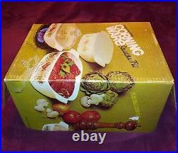 Vintage Spice Of Life L'echalote 1970's Bake Casserole Corningware Set A-33-8