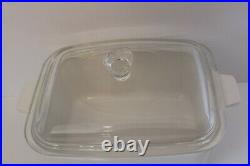 Vintage corning ware P-4-B 7x5 1/2x3 Le Persil La Sauge with Lid