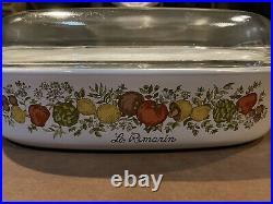 Vintage corning ware le romarin