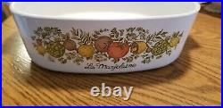 Vintage corning ware pyrex spice of life