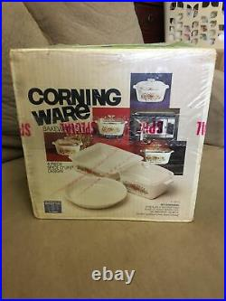 Vintage corning ware spice of life set