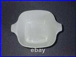 Vtg Corning Ware 1966-1969 P-43-B Blue Cornflower Casserole Dish with P41-GC Lid